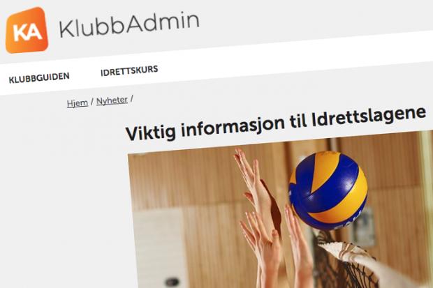 Samordnet søknad og rapportering for klubbene