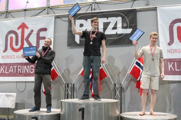 Gratulerer til Norgesmesterne i buldring 2018
