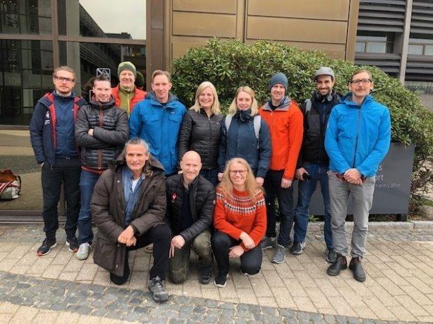 I helgen var Norges klatreforbund tilstede på Nordic Meet 2019 i København!