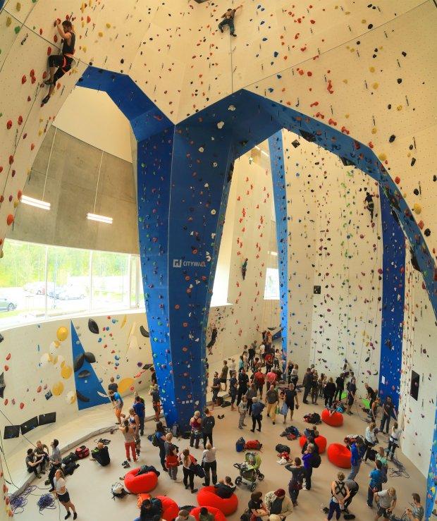 To nye, store og moderne klatreanlegg har åpnet denne uken!