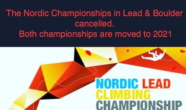 AVLYST! Nordisk Mesterskap i tau 7-8 November